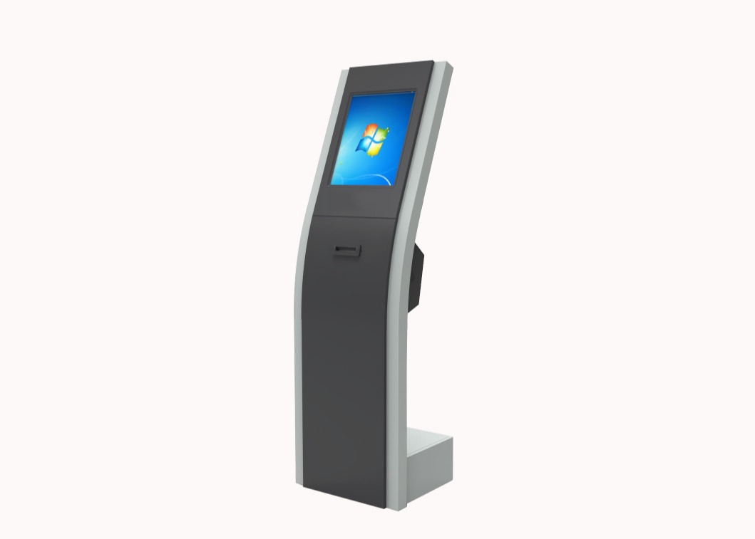 Slim Internet Android Touch Screen Self Service Kiosk With Queue System