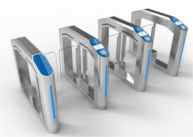 Single Channel/Double Channels Speed Gates , Security Access Control Gates with NFC Card Reader & Camera by LKS